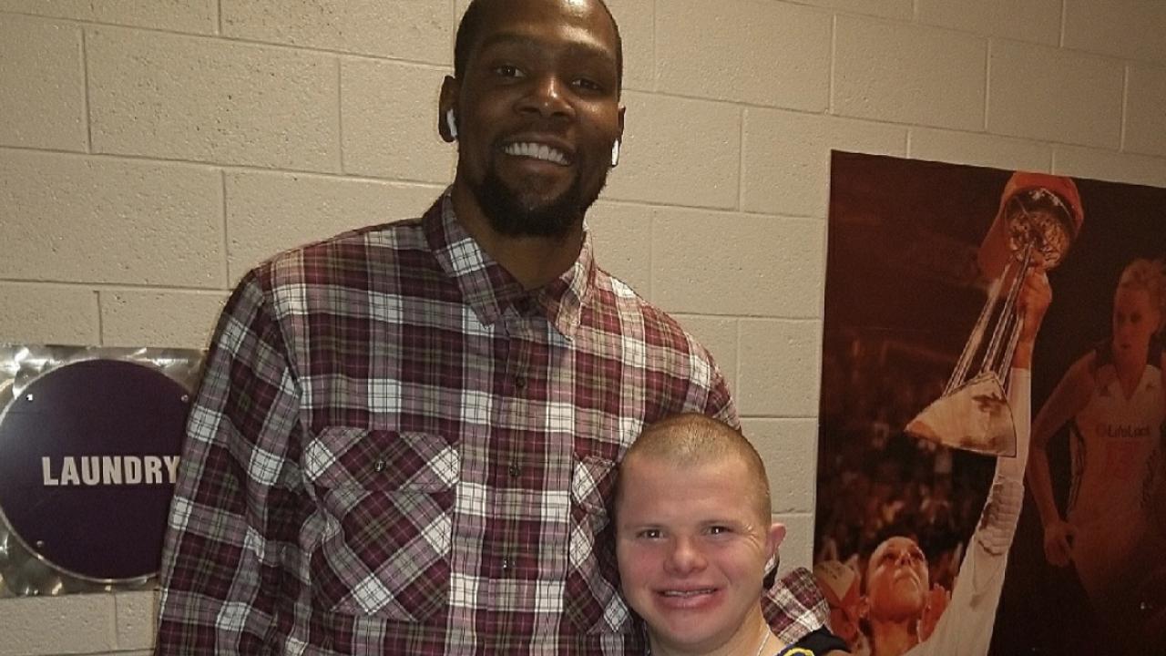 Kevin Durant Jordan Pruneau