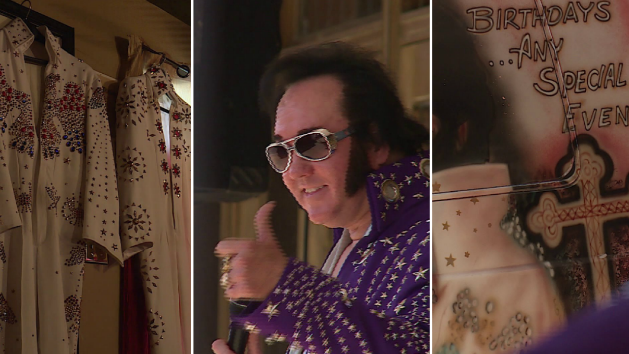 Meet the man who makes a living off of emulating Elvis: 'I'm going to do it till I can't do it no more'