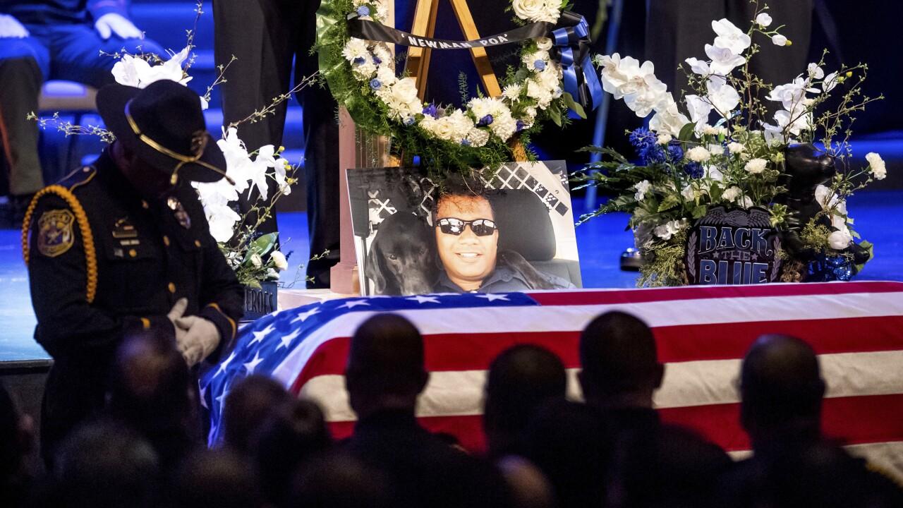 Officer Killed California