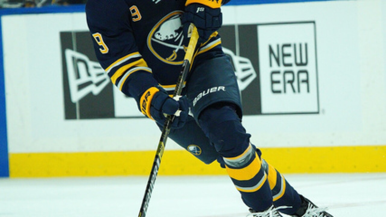 Eichel scores twice as Sabres beat Golden Knights 4-2