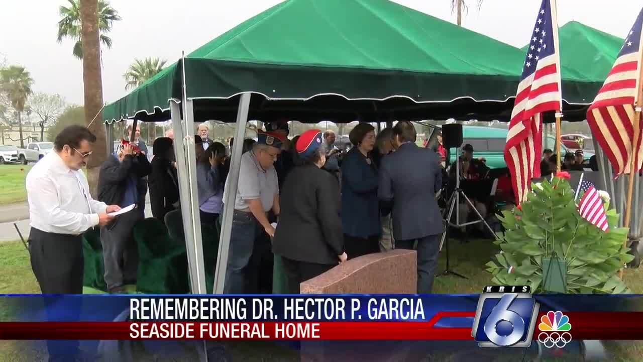 Dr. Hector P. Garcia's memory honored today