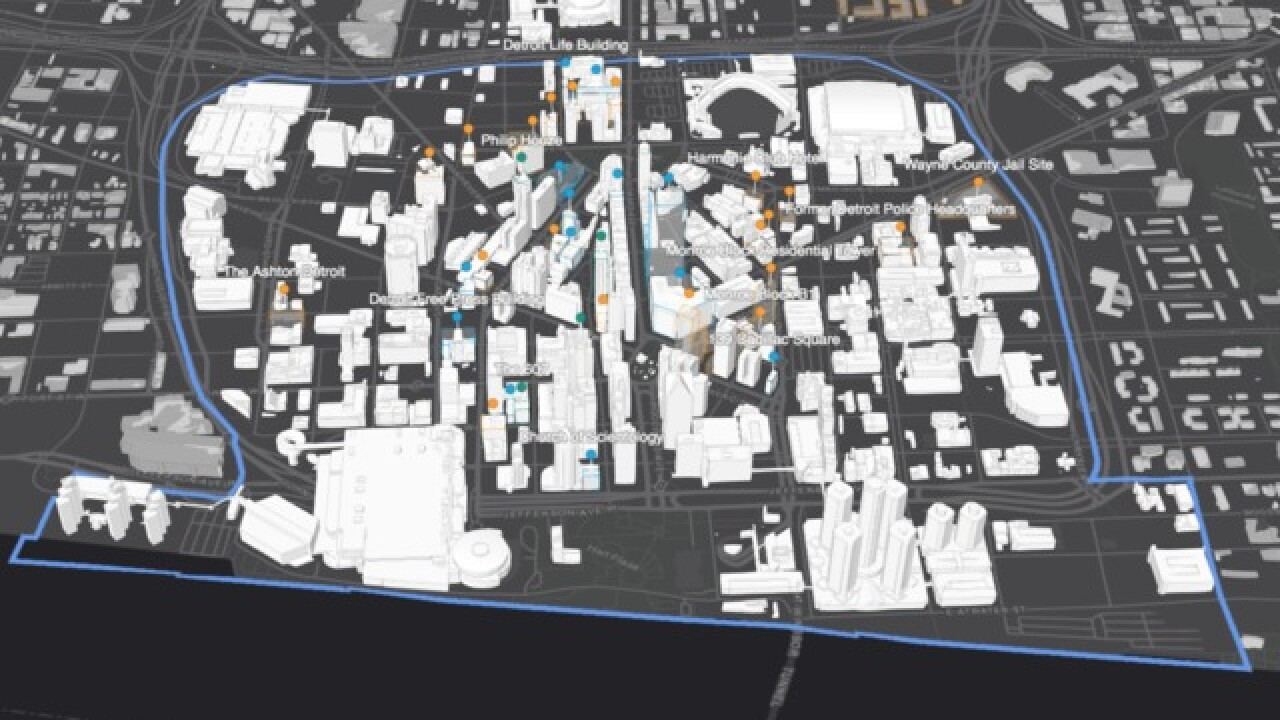 DDP launches interactive 3D map of downtown Detroit