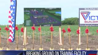 Breaking ground on first responder training facility