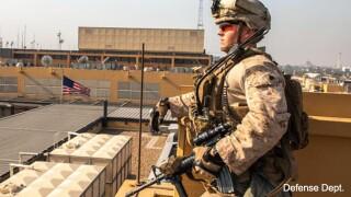 marines baghdad embassy 01.03.20
