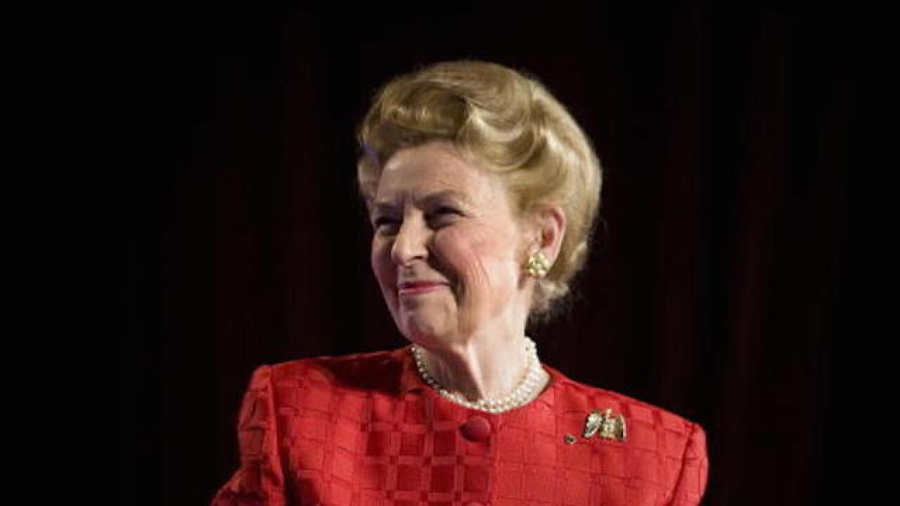 Conservative icon Phyllis Schlafly dead at 92