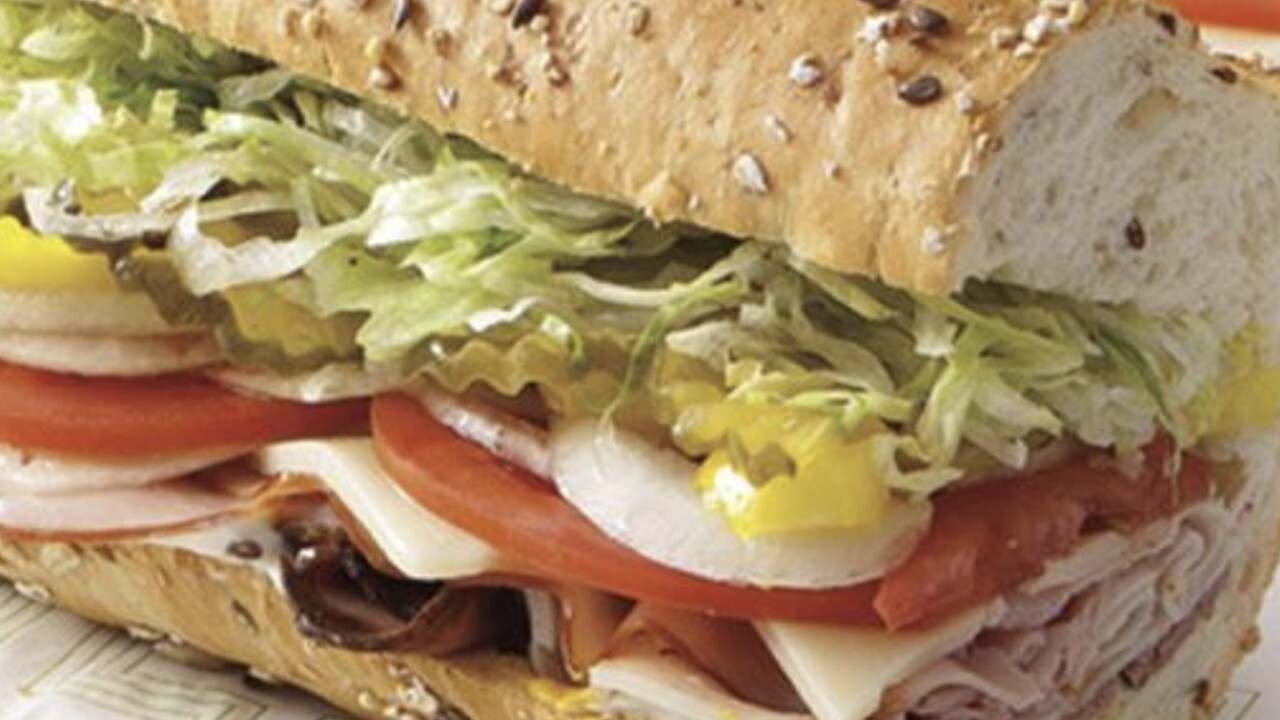 All Publix subs on sale for $5.99 through Sunday