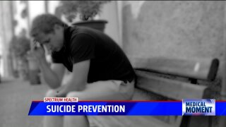Medical Moment: Suicide Prevention with Spectrum Health