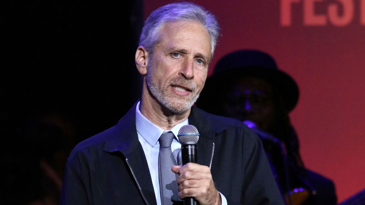 Jon Stewart will be back in the host's chair for Apple TV+