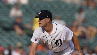 Matt Manning Tigers Baseball