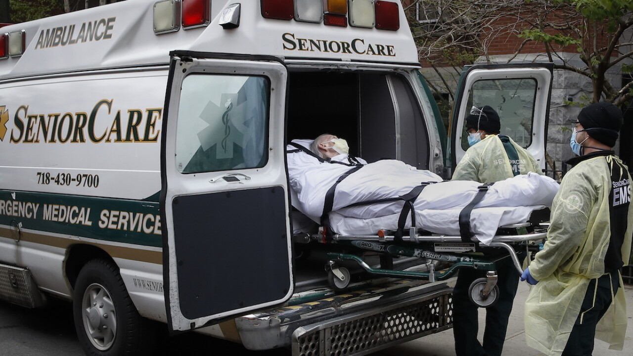 Another 1,700 virus deaths reported in NY nursing homes