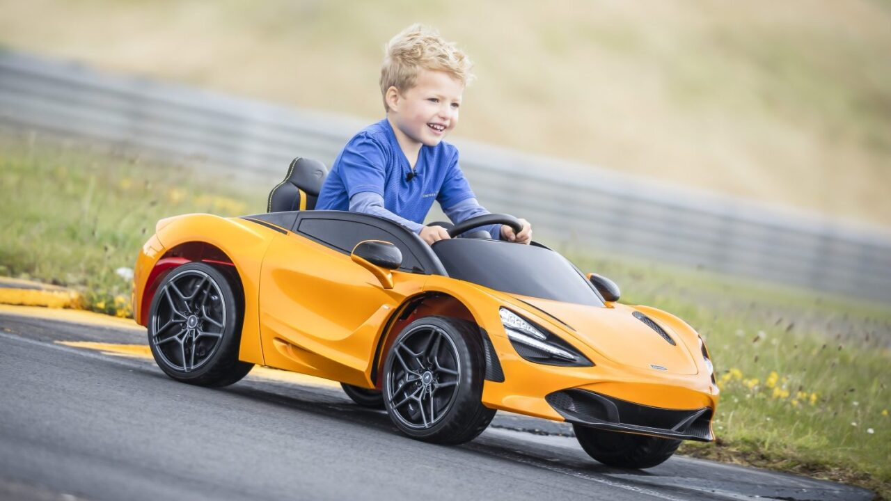 McLaren is selling a $400 electric car for kids