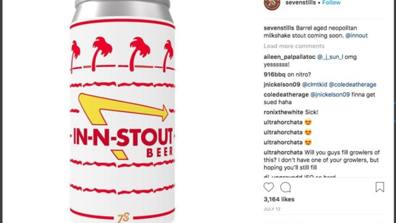 In-N-Out sends cease and desist to CA brewery