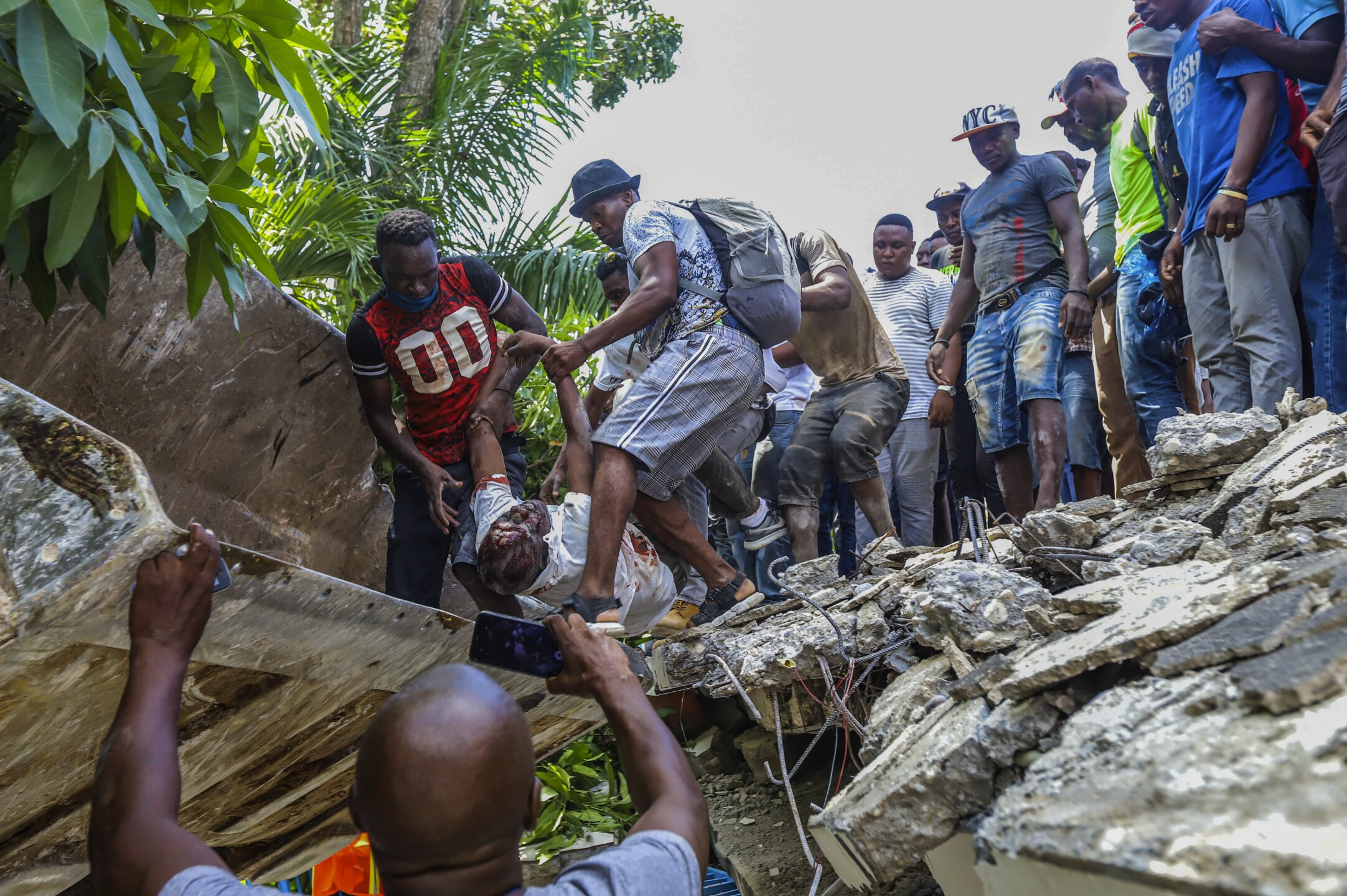 APTOPIX Haiti Earthquake