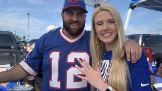 Bills fans get engaged