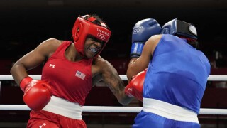 Oshae Jones clinches medal to buoy U.S. boxing contingent