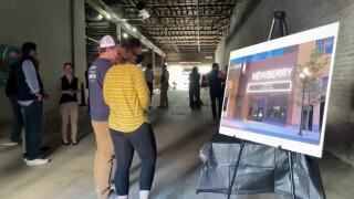 Work is underway on The Newberry in downtown Great Falls