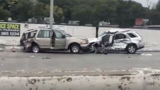 Woman killed in crash on I-83 in Baltimore after losing control of car.jpg
