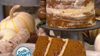 Pumpkin Streusel Cake from Jim Hagy and Chef's Market