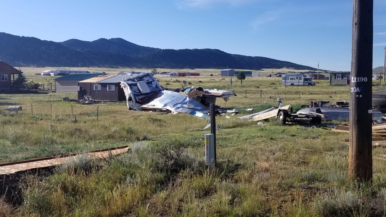 custer county westcliffe tornado