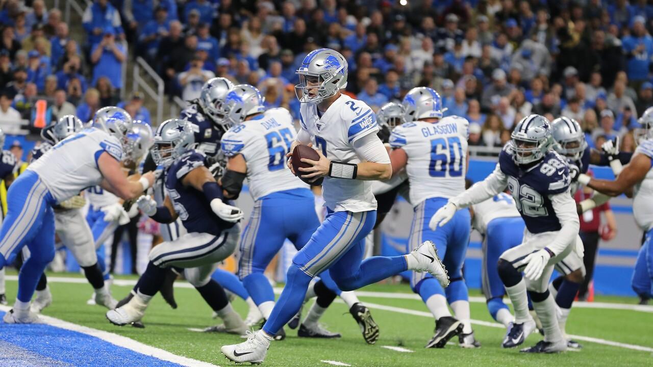 Jeff_Driskel_Dallas Cowboys v Detroit Lions