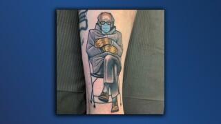 Bernie Sanders meme tattoo_Sam Kuhn.jpg