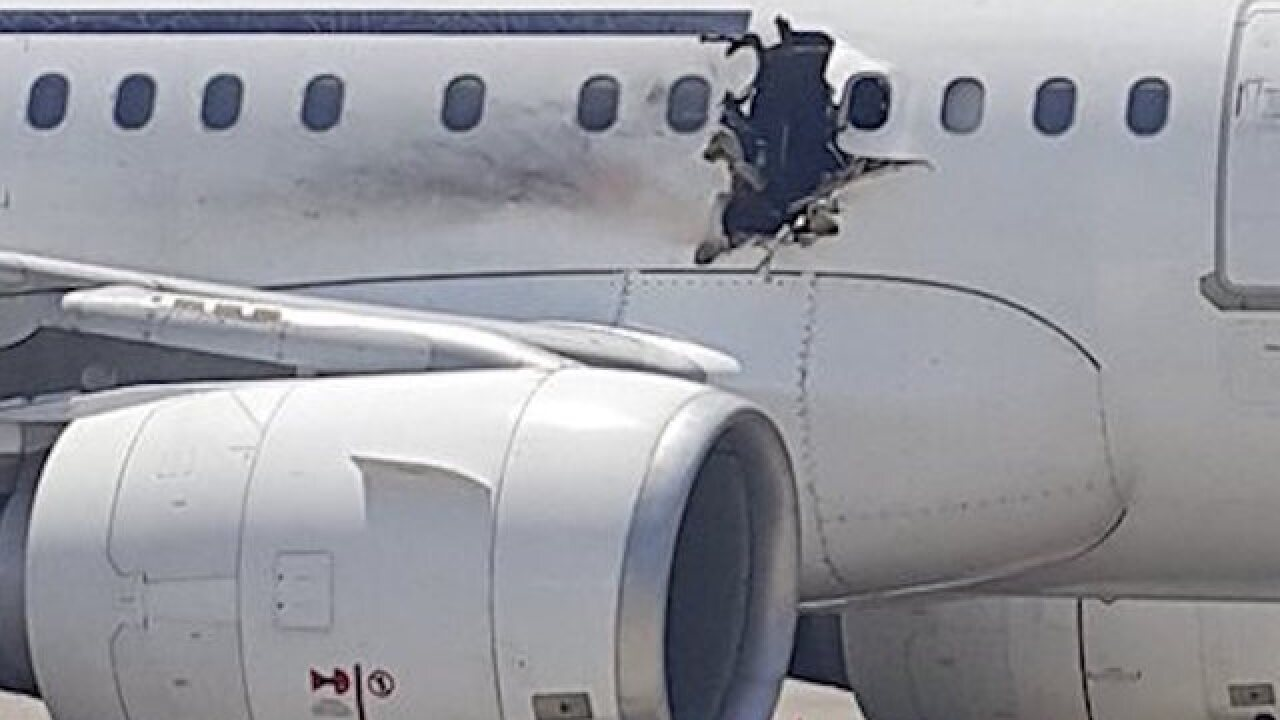 Somali plane video: Laptop handed to suspect