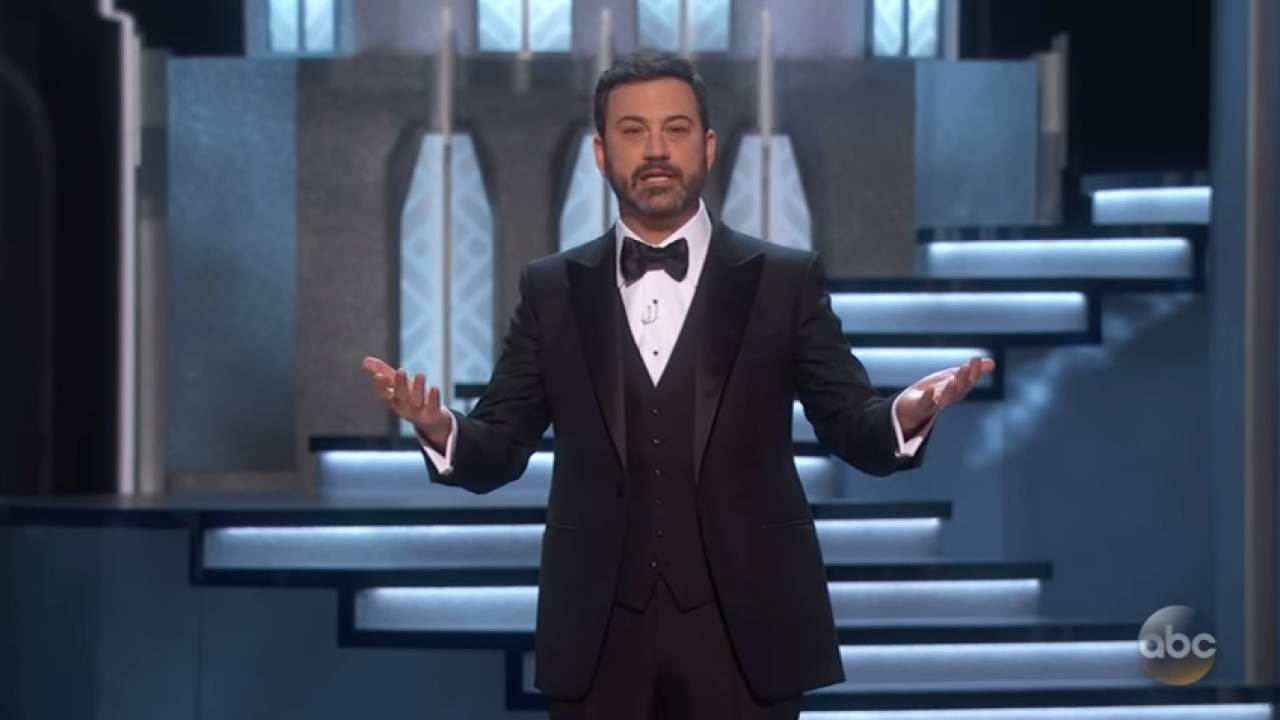 Jimmy Kimmel is giving federal workers jobs on his show during shutdown