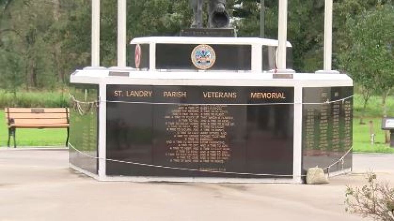 st. landry parish veterans memorial.JPG