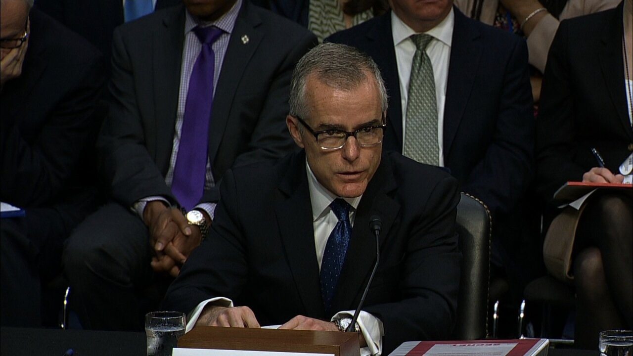 McCabe: Trump's 'own words' prompted probe