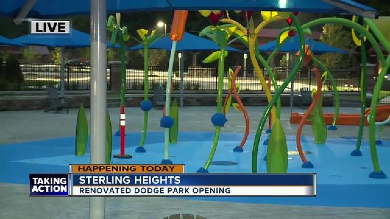 Sterling Heights Dodge >> Overhauled Dodge Park In Sterling Heights Unveiled In Time