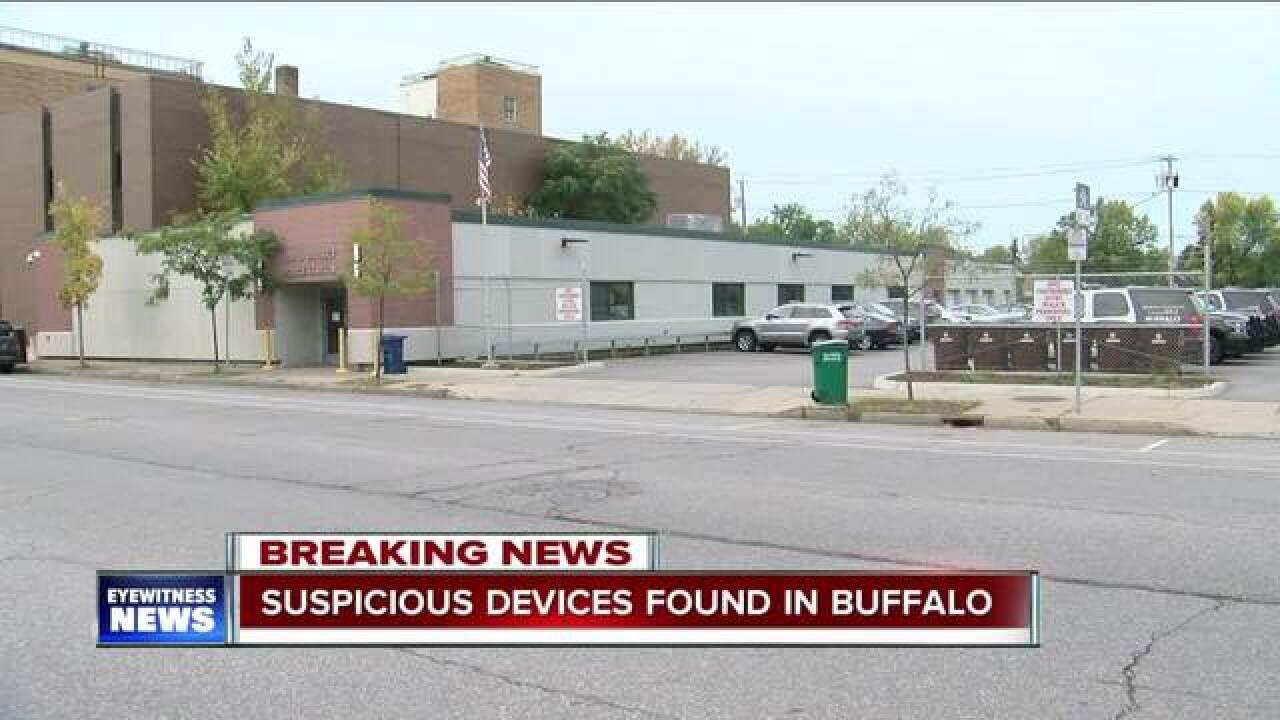 Suspicious device found in Buffalo