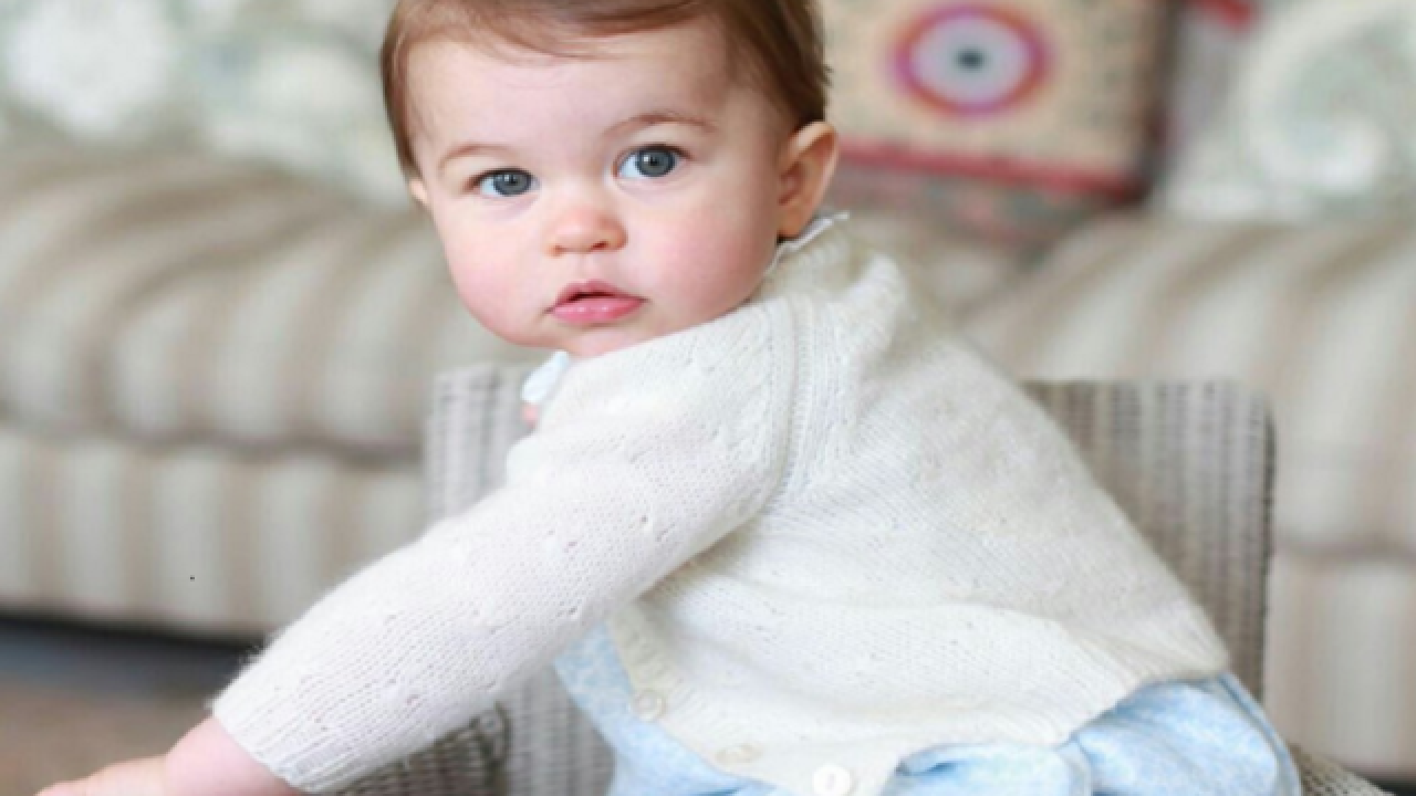 1st birthday: New photos released of Princess Charlotte