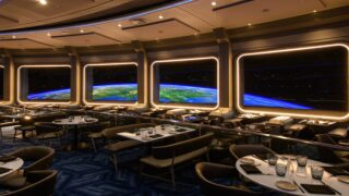 Disney World Opened A Restaurant That Lets You Eat In 'space'