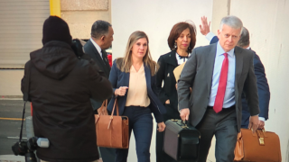 Pugh arrives for sentencing