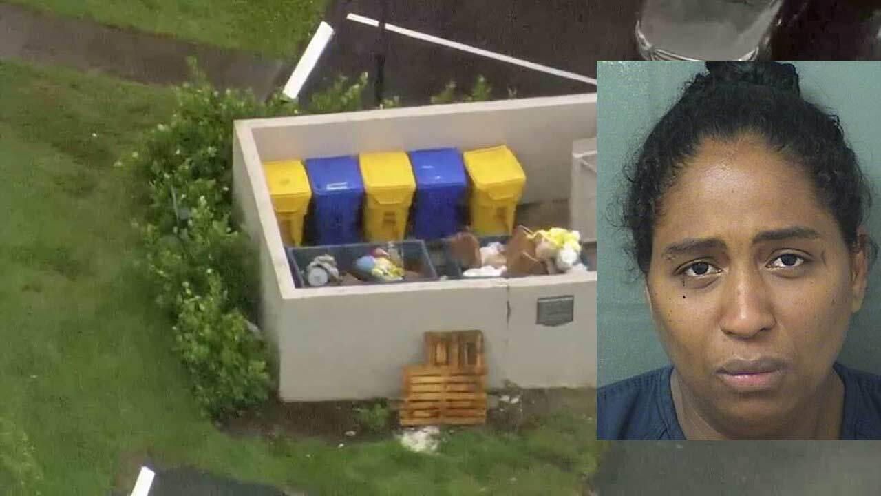 Rafaelle Sousa: 35-year-old west Boca woman arrested after baby found alive in dumpster