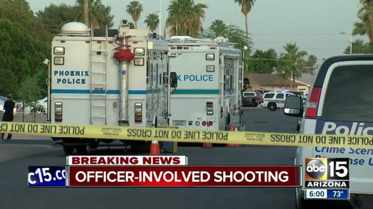 Suspect injured during officer-involved shooting