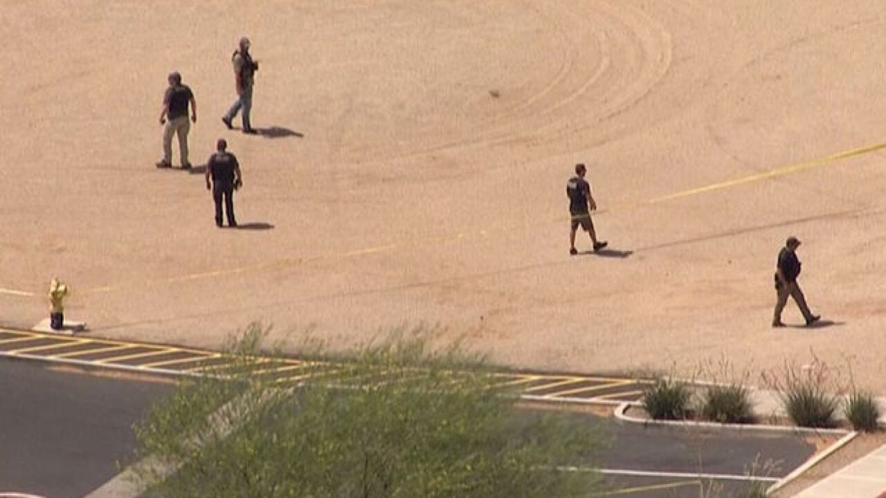 PD: Possible shot fired at Gilbert hospital