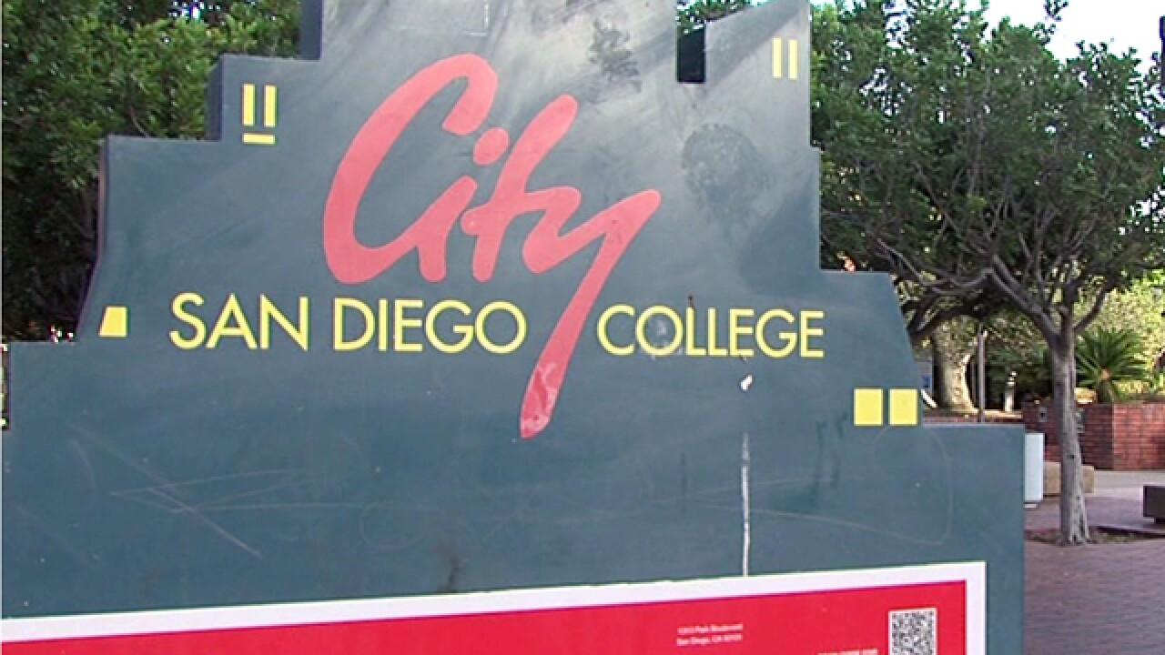 Police search for San Diego City College indecent exposure suspect