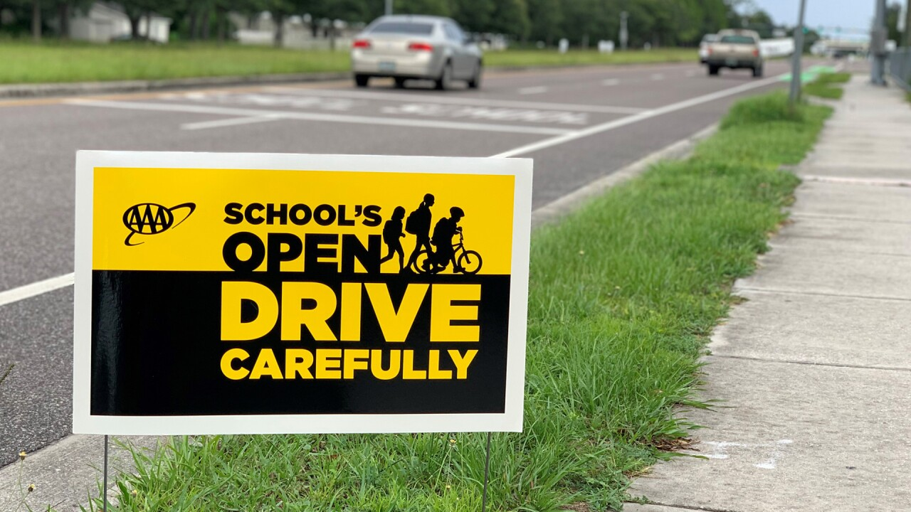 AAA's School's Open Drive Carefully campaign