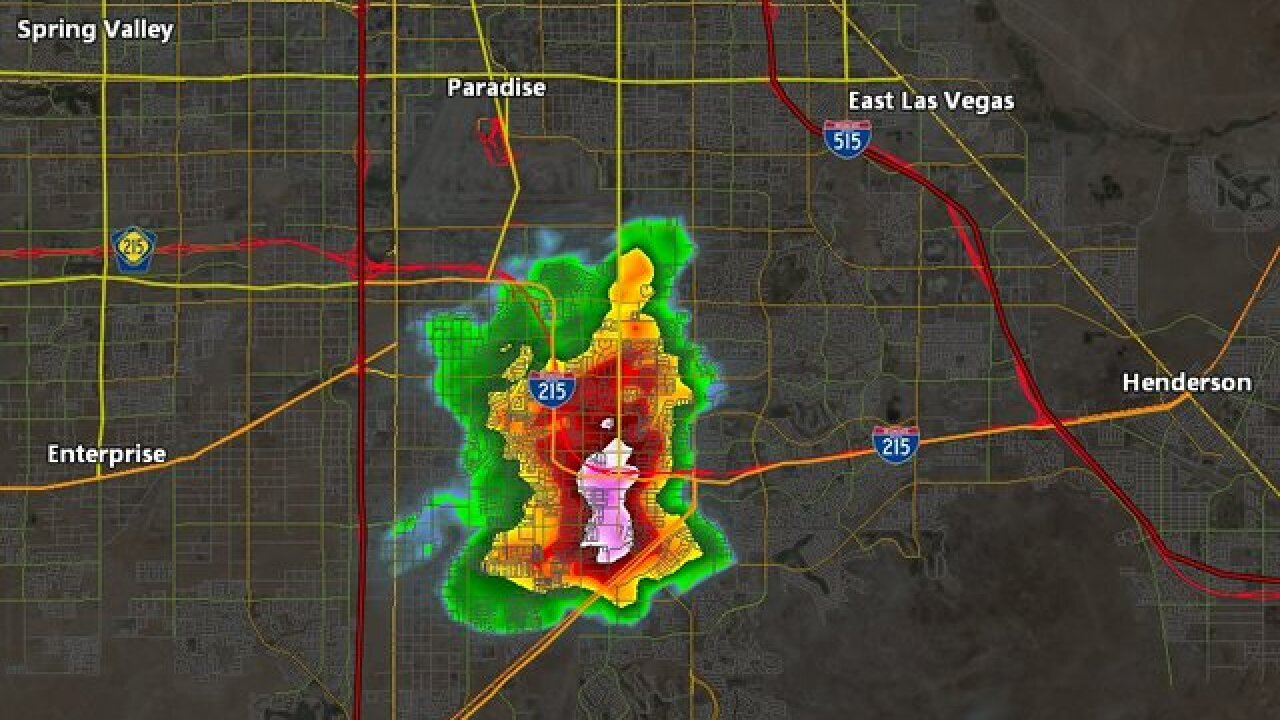Flash Flood Warning issued for NW Clark County