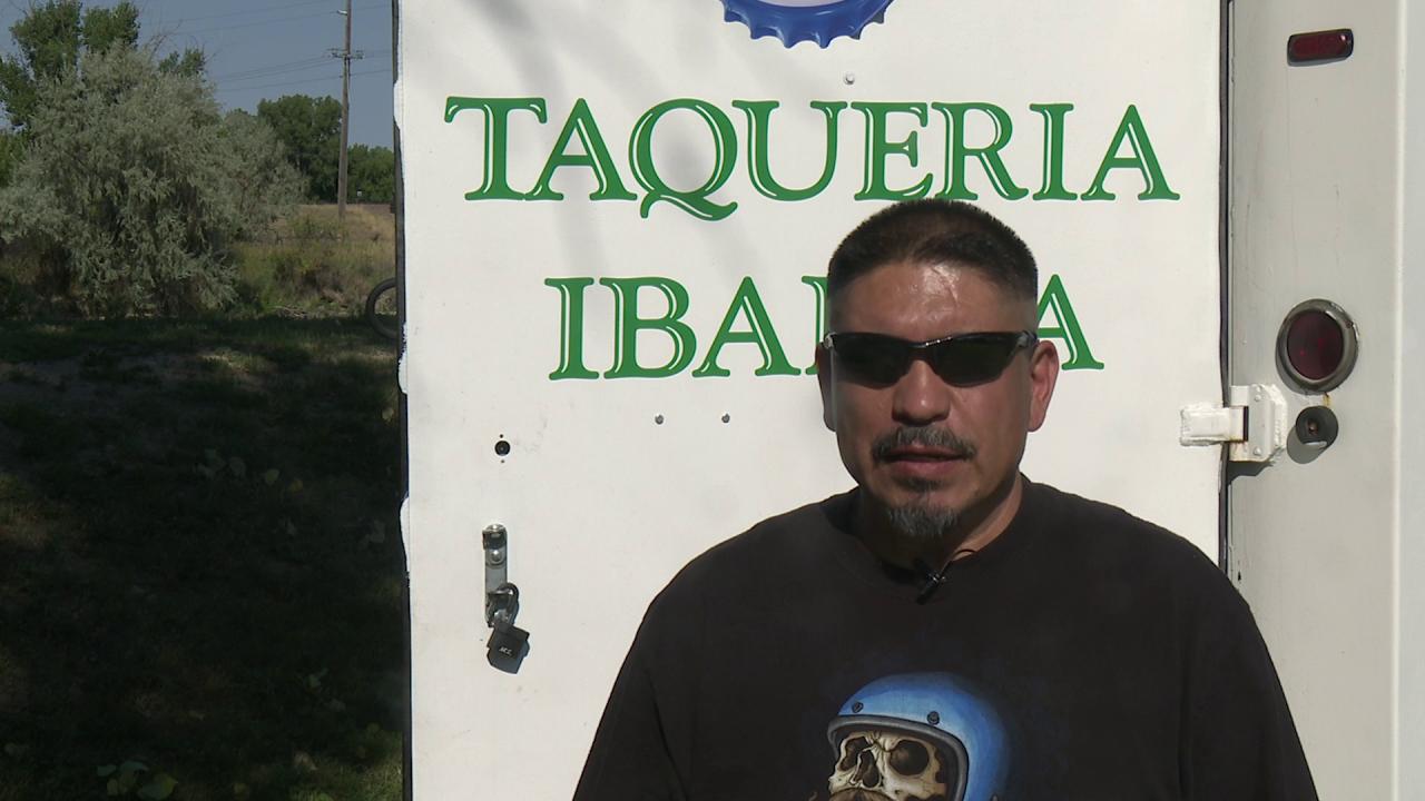 Robert Ibarra opened a food truck called Taqueria Ibarra