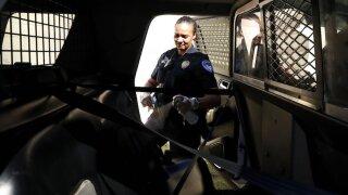 Virus Outbreak Texas Police