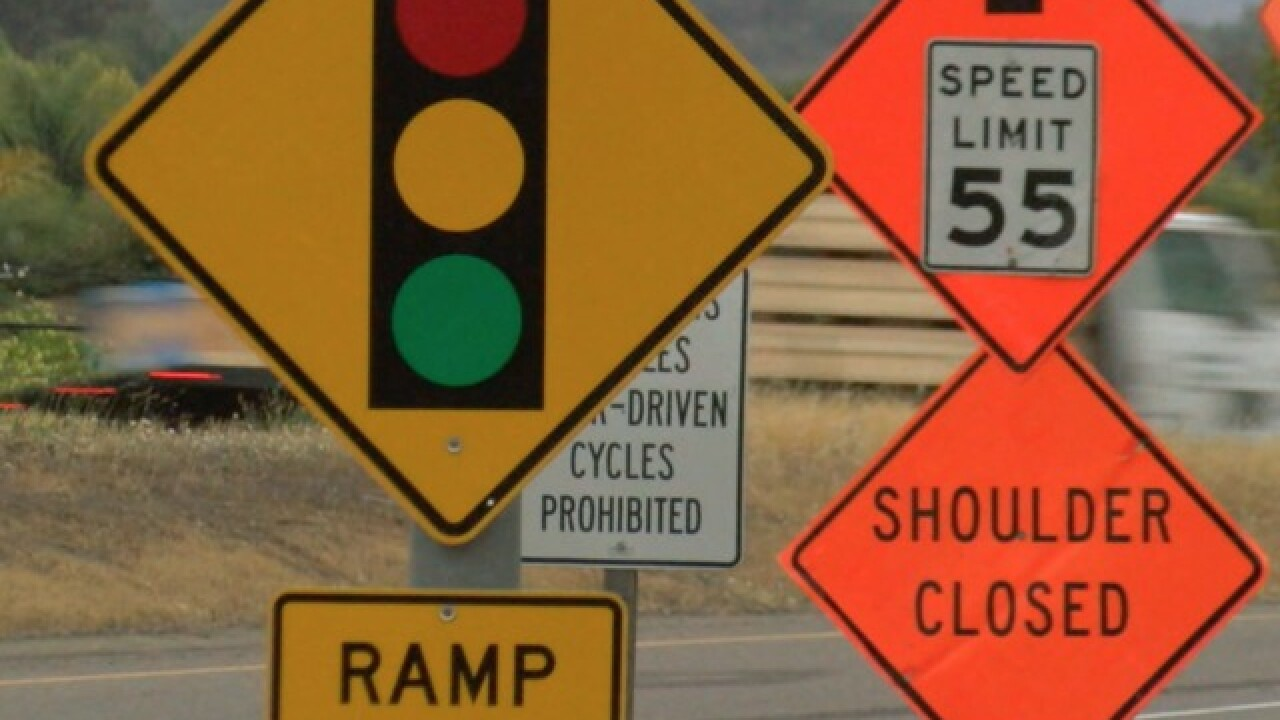 Highway 78 drivers concerned about Caltrans construction on ramp