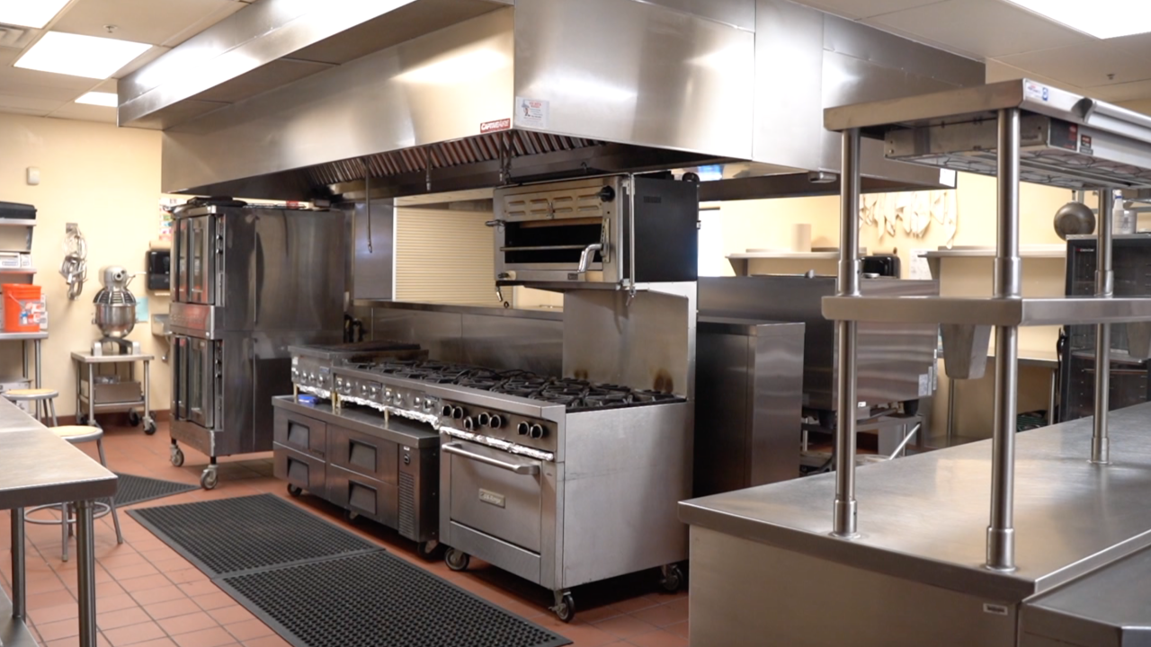 Pima JTED Culinary Arts Kitchen at Mountain View High School