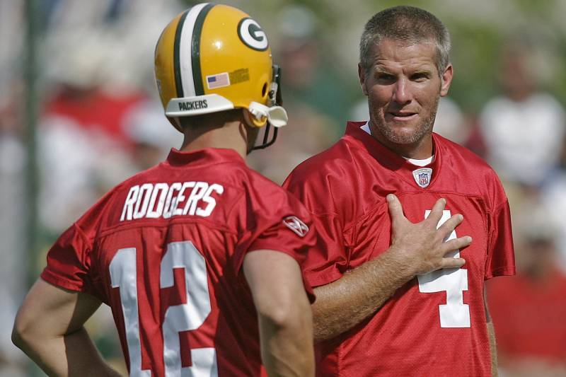 Rodgers and Favre had a complicated relationship