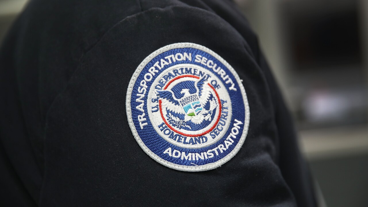 tsa transportation security administration badge