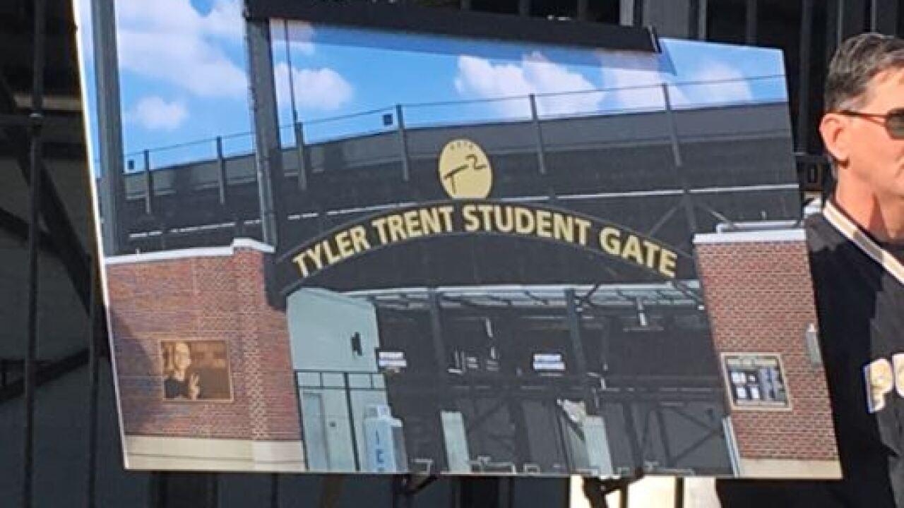 Tyler Trent memorial.JPG