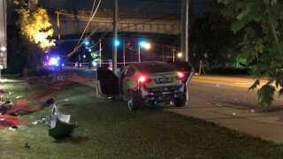 Mount auburn pedestrian crash
