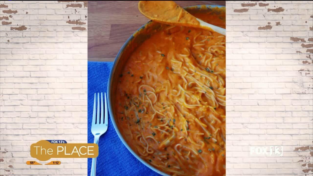 Recipe: Red Pepper Pasta(allergy-free)