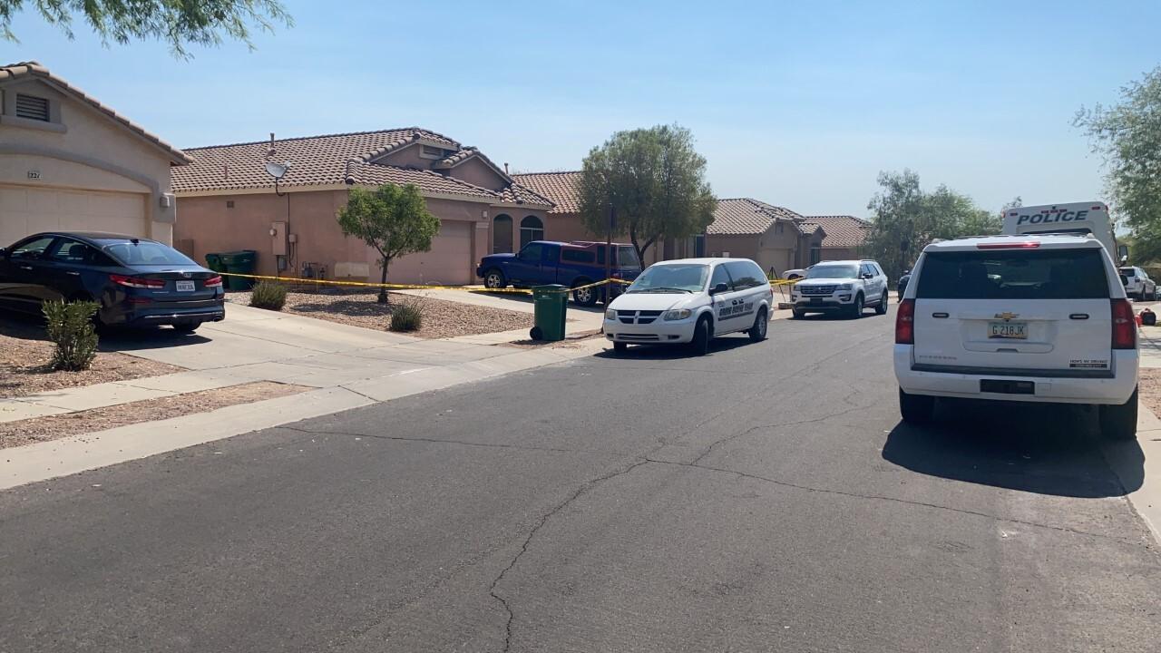 Sahuarita police investigated a deadly Sunday shooting.
